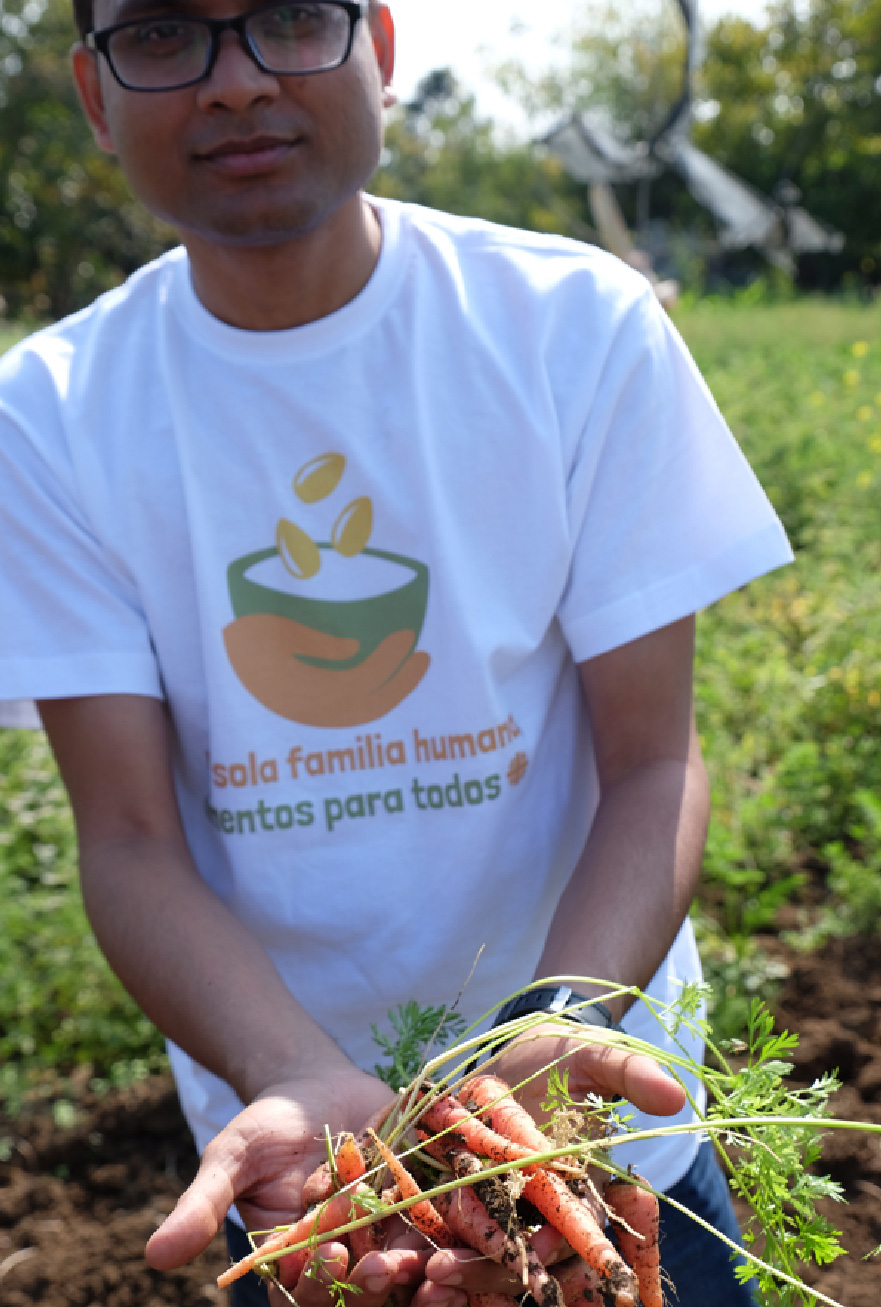 One Human Family, Food For All campaign