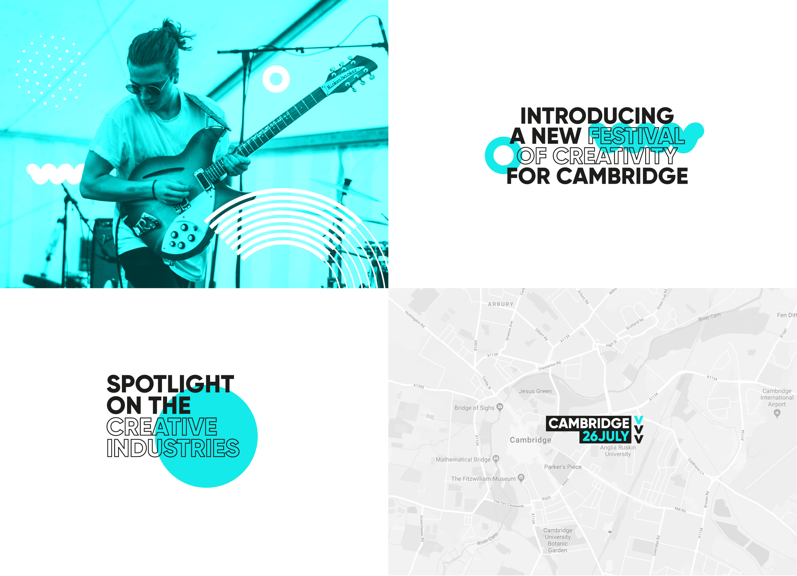 Cambridge Festival of Creativity Lockups