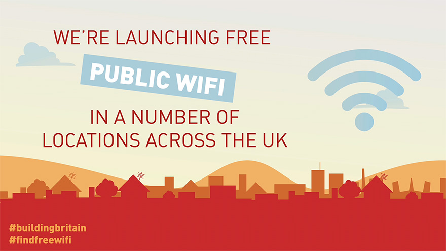 DCMS free public wifi campaign video animation