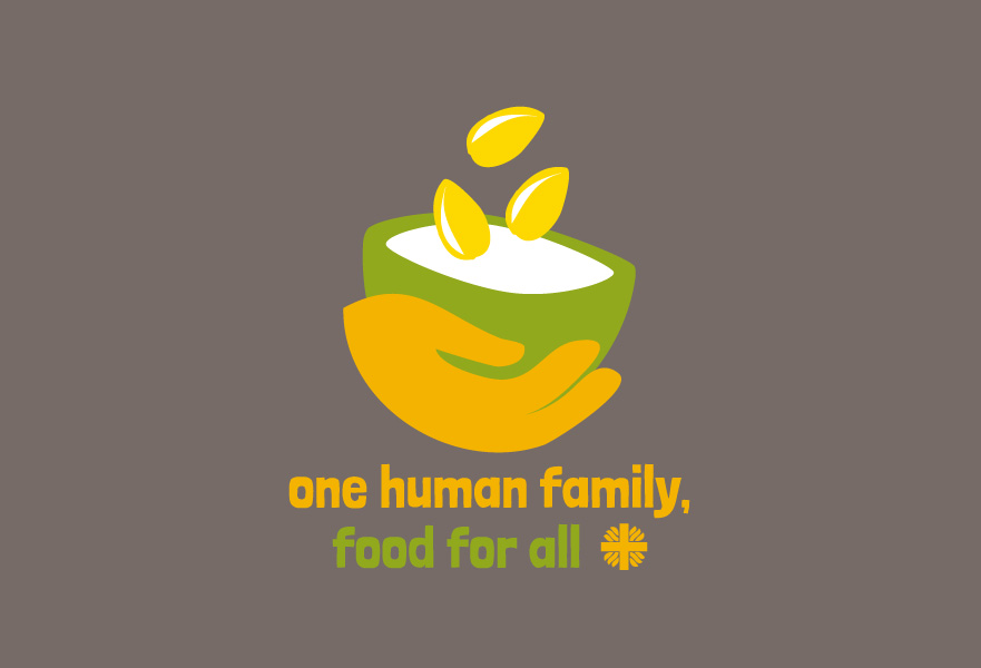 One Human Family, Food For All campaign logo
